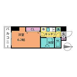 アレンダール大須[7階]の間取り