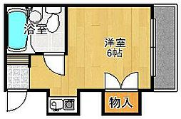 シャトーヤタニ[2階]の間取り