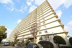 大阪府東大阪市西岩田2丁目の賃貸マンションの外観