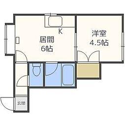 アーバンN32[2階]の間取り