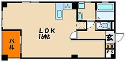第2水口ビル[3階]の間取り