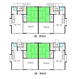ガーデン緑ヶ岡[00201号室]の間取り