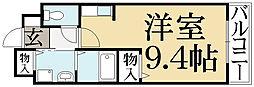 ジェンテカ−サ[2階]の間取り