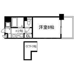 エステムコート新大阪IIIステーションプラザ[7階]の間取り