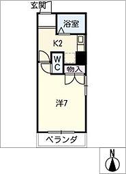タカギビル[4階]の間取り