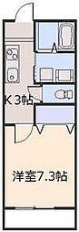 ブルームハウス[105号室号室]の間取り