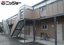 ハイツサンリバー[1階]の外観