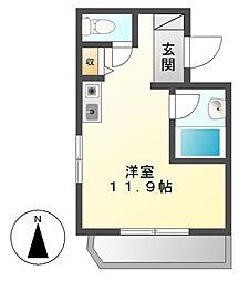 パソテイト覚王山[5階]の間取り