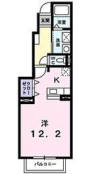 サニーサイドコート[1階]の間取り