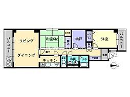 プリメール・ノジマ[2階]の間取り