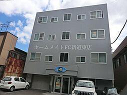 北海道札幌市東区北三十三条東7丁目の賃貸マンションの外観
