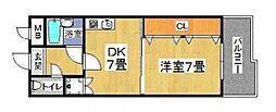 エイチツ−オ−今川[101号室号室]の間取り