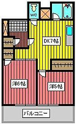 長井ビル[3階]の間取り