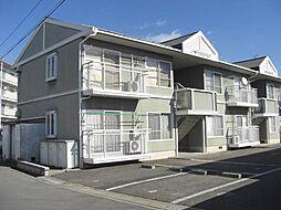 長野県長野市篠ノ井二ツ柳の賃貸アパートの外観