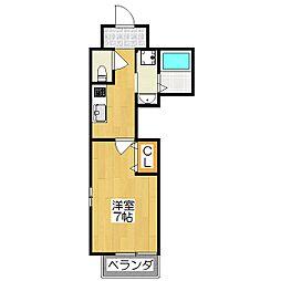 K'sコート京都[3階]の間取り
