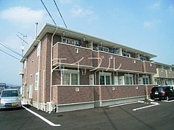松岡ハイツII C棟[1階]の外観
