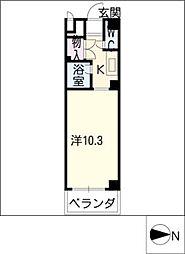 Vip−in太平洋ノースヒルズ[3階]の間取り