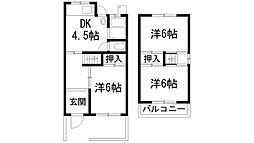 [一戸建] 兵庫県川西市萩原2丁目 の賃貸【/】の間取り