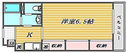 リブリ・大成[2階]の間取り