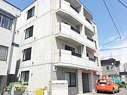 北海道札幌市西区琴似四条3の賃貸マンションの外観