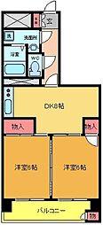 東建金町マンション[13F号室]の間取り