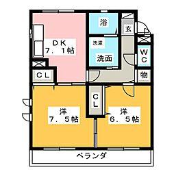 ウインドヒル[2階]の間取り