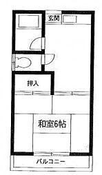 ハイム小島[1階]の間取り