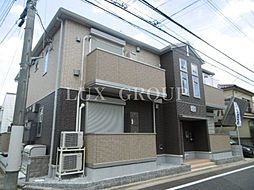 東京都国立市中1丁目の賃貸アパートの外観