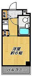 大阪府枚方市北中振3丁目の賃貸マンションの間取り