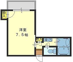 エンゼルハイツ小阪本町[505号室]の間取り