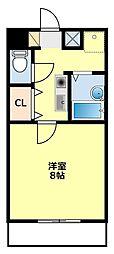 愛知県豊田市青木町5丁目の賃貸マンションの間取り