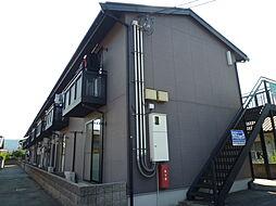 岡山県倉敷市有城の賃貸アパートの外観