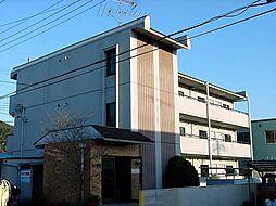 京都府宇治市五ケ庄福角の賃貸マンションの外観