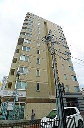 北海道札幌市豊平区月寒中央通5丁目の賃貸マンションの外観