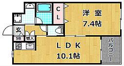 WHITE HOUSE[1階]の間取り