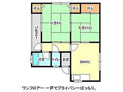 兵庫県神戸市垂水区舞子台8丁目の賃貸マンションの間取り