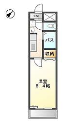 レジデンス司III[3階]の間取り