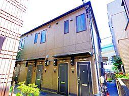 東京都練馬区石神井町2丁目の賃貸アパートの外観