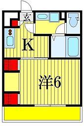 (仮称)リブリ・東四つ木[2階]の間取り
