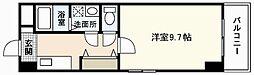 ルーナパッソ[1階]の間取り