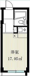 メゾンTOWA[1階]の間取り