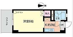 コスモAoi長後[203号室]の間取り