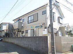 神奈川県横浜市鶴見区馬場2丁目の賃貸アパートの外観