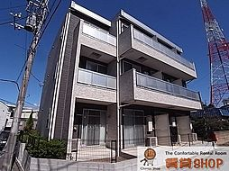 千葉県船橋市三山2の賃貸アパートの外観