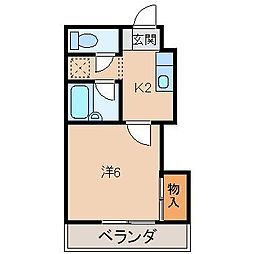 プライムハウス[2階]の間取り
