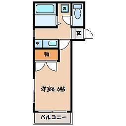 蒼樹館[2階]の間取り