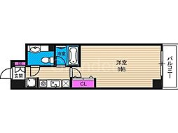 ロジェ今福鶴見[12階]の間取り