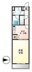 レジディア東桜[7階]の間取り
