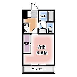 アインバウム[1E号室]の間取り