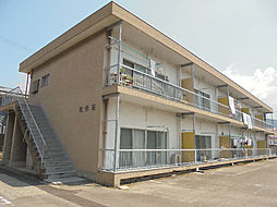愛媛県松山市松末1丁目の賃貸アパートの外観